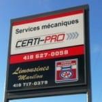 services mécaniques certi-pro
