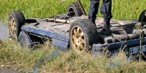 accident pneu fesse
