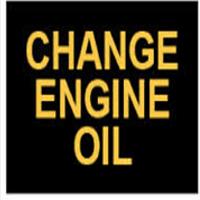 voyant change oil - changer huile moteur