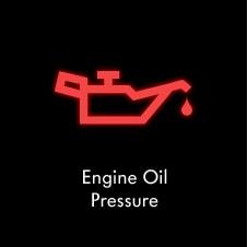 voyant de pression d'huile moteur