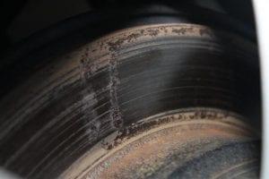 disque de freins rouillé