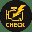 voyant de problème moteur anomalie - check engine light