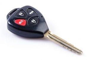 clé d'auto